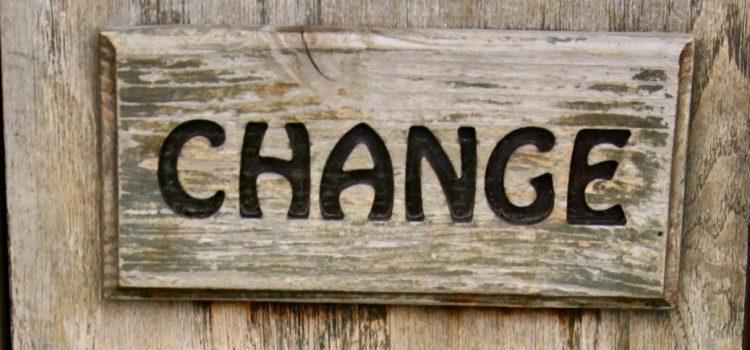 De juiste verandering